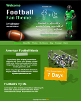 iWeb Template: Football