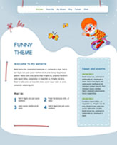 iWeb Template: Funny Theme