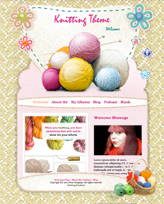 iWeb Template: Knitting