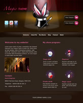 iWeb Template: Magic Theme