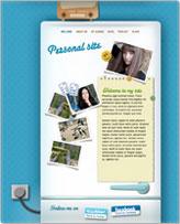 iWeb Template: Personal Page II