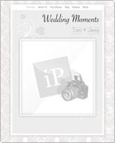 iWeb Template: Wedding Moments