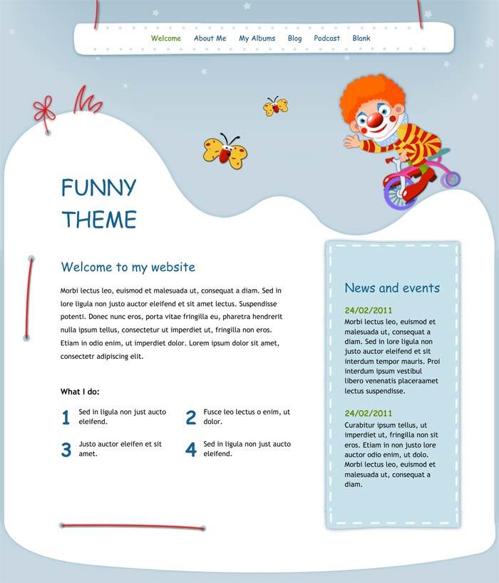 iweb templates iweb themes page 1