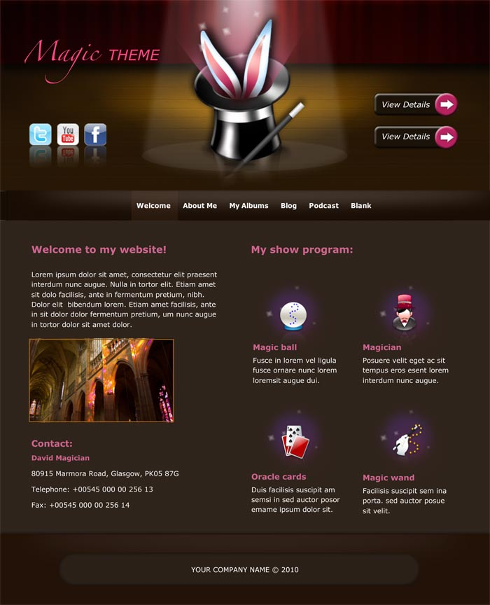 iWeb Templates, iWeb Themes - iWeb Website Templates, Bundles and Themes